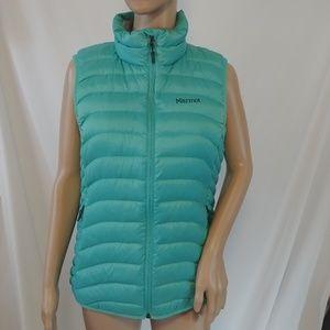 Marmot Women's Aruna Down Vest Medium Turquoise